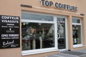 Top Coiffure vitrine
